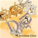 Christian Dior イヤリング Blanc/D61209