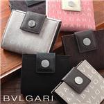 BVLGARI Wホック式財布 22241/BLACK(大)