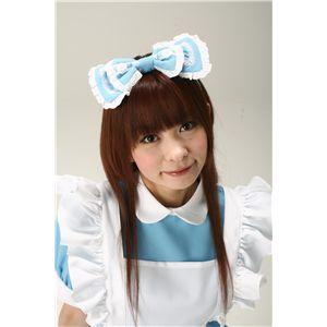 Alice'sフリルリボンカチューシャ 水色