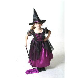 メロディドレス 紫 子供140