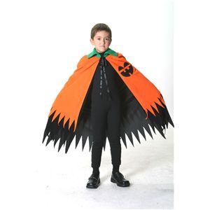 2WAYマント オレンジ 子供140