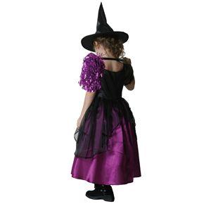メロディドレス 紫 子供 140