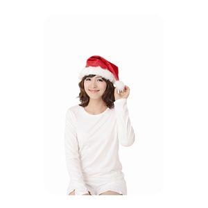 サンタ帽子 レッド 4個セット