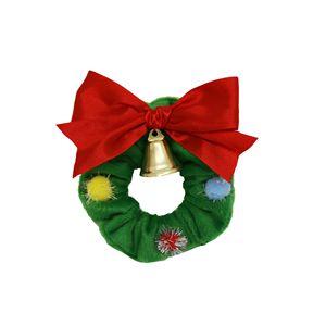 シュシュ クリスマスリース 4個セット