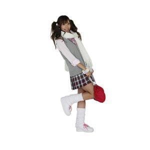 Teens Ever(ティーンズエバー) プリーツスカート M チェック(赤×白×黒)