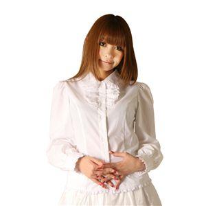 Cream doll ブラウス フリルスタンド(ホワイト)