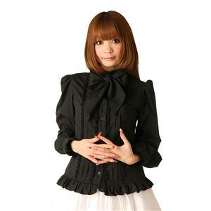【コスプレ】 ロリータ風コスプレ Cream doll ブラウス リボンタイ(ブラック) 4560320825463