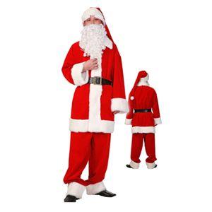 【2010年クリスマスサンタコスプレ】ゴージャスサンタ レッド Men's