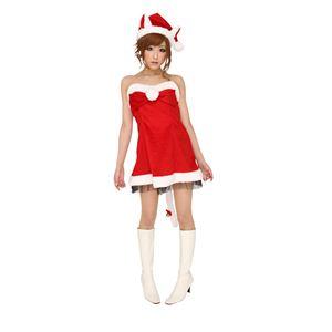 【クリスマスコスプレ】ハーティーキャットサンタ Ladies 4560320834090