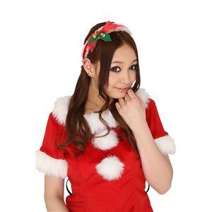 クリスマスコスプレ ショートケーキカチューシャ 【3セット】