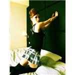 【小悪魔セクシー】 Sherry's Closet(シェリーズクローゼット) プリーツミニ ブラック M 4560320842767