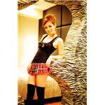 【小悪魔セクシー】 Sherry's Closet(シェリーズクローゼット) プリーツミニ レッド S 4560320842774