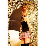 【小悪魔セクシー】 Sherry's Closet(シェリーズクローゼット) レースプリーツミニ ピンク M 4560320842828