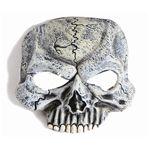 【2012ハロウィン】 Chinless Half Mask-Skull(ハーフサイズのスカルマスク)