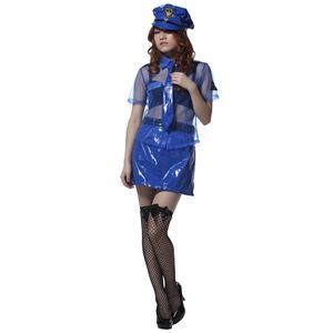 【コスプレ】 Sherry's Closet SL プライベートポリス ブルー
