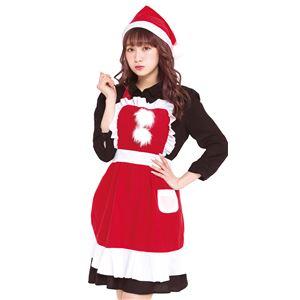 【クリスマスコスプレ】フリルクリスマスエプロン Ladies