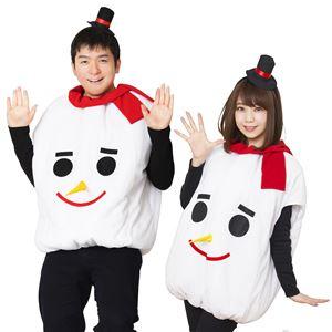 【クリスマスコスプレ】モコモコスノーマン UNISEX