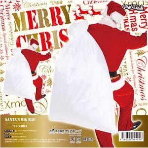 【クリスマスコスプレ】サンタ袋特大