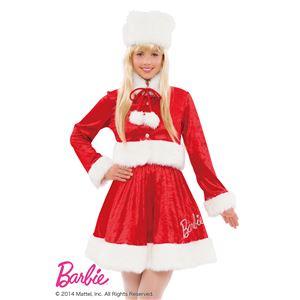 【クリスマスコスプレ】Barbie Christmas スウィートホットサンタ レッド