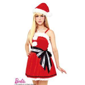 【クリスマスコスプレ】Barbie Christmas レーシーリボンサンタ