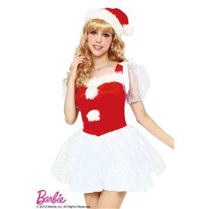 【クリスマスコスプレ】Barbie Christmas ホワイトスノーサンタ