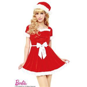 【クリスマスコスプレ】Barbie Christmas グリッターフリルサンタ