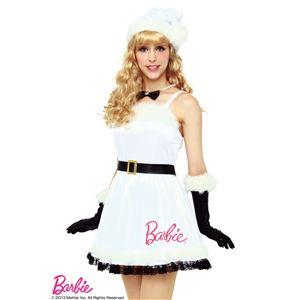 【クリスマスコスプレ】Barbie Christmas ベーシックベルトサンタ(ホワイト)