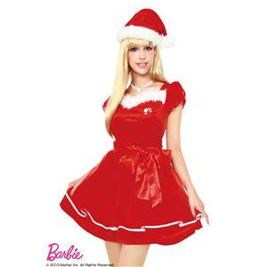 【クリスマスコスプレ】Barbie Christmas シフォンスリーブサンタ