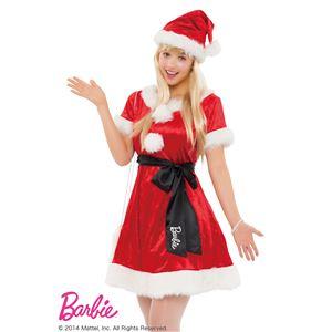 【クリスマスコスプレ】Barbie Christmas ガーリーサンタ レッド