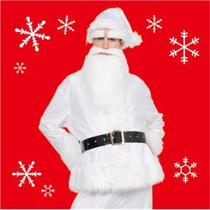 【クリスマスコスプレ 衣装】 GOGOサンタサン(ホワイト)