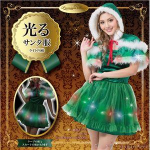 【クリスマスコスプレ 衣装】光る! エレクトリックツリーケープドレス