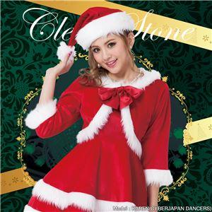 【クリスマスコスプレ 衣装】 ボレロジャケットサンタ