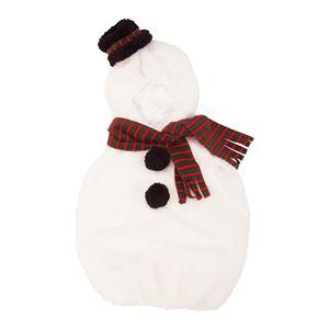【クリスマスコスプレ 衣装】 マシュマロスノーマン Baby(ベビー)