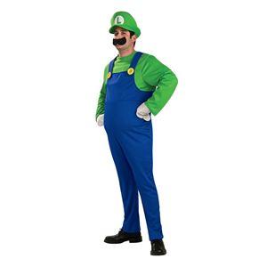 コスプレ衣装/コスチューム Disguise Luigi Deluxe Adult ジャンプスーツ