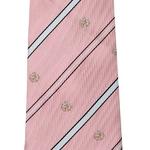 柄ネクタイ 薄ピンク/紋章の詳細ページへ