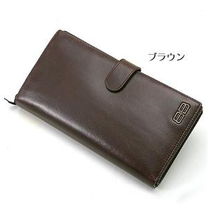 BALENCIAGA 二折り長財布 BANA03 ブラウン