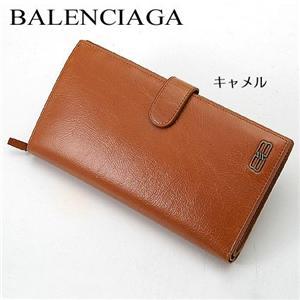 BALENCIAGA 二折り長財布 BANA03 キャメル