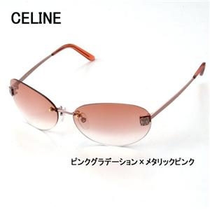 CELINE サングラス 1284-A39 ピンクグラデーション×メタリックピンク