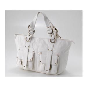 リングデザイン デイリートートバッグ 14006 ホワイト