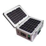 ソーラー式ポータブル発電機(PETC-FDXT‐20W)