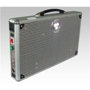 ソーラー式ポータブル発電機 PETC-FDXT‐20W(薄型)