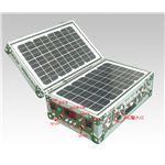 ソーラー式ポータブル発電機(PETC-FDXT‐30W)