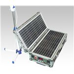 ソーラー式ポータブル発電機(PETC-FDXT‐40W)