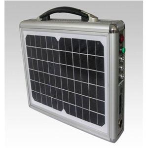 ソーラー式ポータブル発電機(PETC-FDXT‐10W)