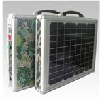 ソーラー式ポータブル発電機(PETC-FDXT‐15W)