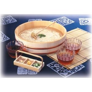 清涼 そうめんセット 3人膳 (桶、うつわ、麺うどんすくい、薬味入れ セット)