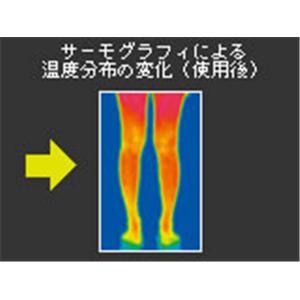 足をエアマッサージでソフトに癒す メドマー2000(両足用セット)の商品画像大3