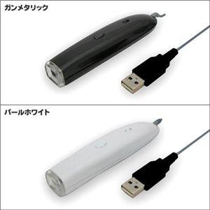 ミクロの世界へGO♪LEDライト搭載USBマイクロスコープ