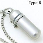 純チタンピルケース TypeB(底の丸いタイプ)