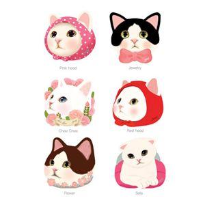 JETOY うちわ 【6種セット】 ピンクずきん、ローズ、アイ、ソファ、赤ずきん、ジュエル